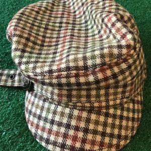 J. Crew Accessories - Tweed Pattern Newsboy Hat